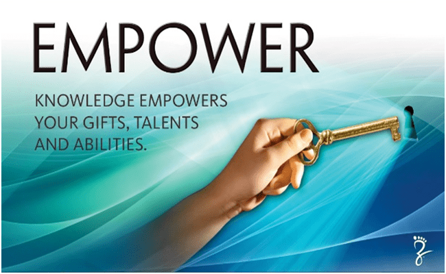 Our vision empower
